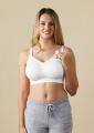 Těhotenská a kojící podprsenka Body Silk Seamless White