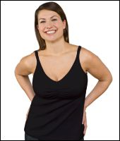 Kojící a těhotenský nátělník Top Essential Nursing Bra Tank Bravado! designs